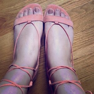 Forever 21 suede sandals